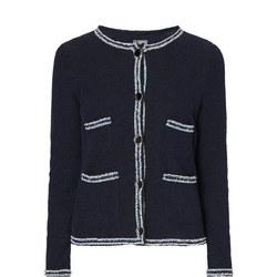 Trimmed Jersey Jacket