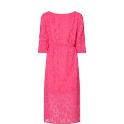 Midi Puff Sleeve Dress