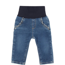 Babies Frill Pocket Jeans
