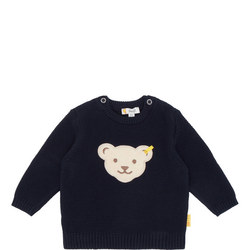 Babies Knitted Bear Sweater