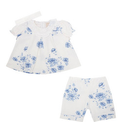 Babies Siobhan Top Trousers And Headband Set