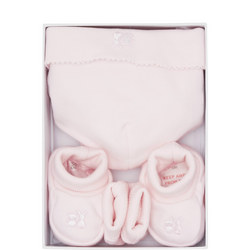 Knox Hat Booties And Mittens Gift Box Set
