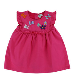 Babies Butterfly Applique Dress