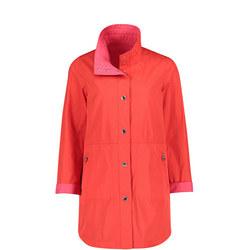 Snap Button Rain Jacket