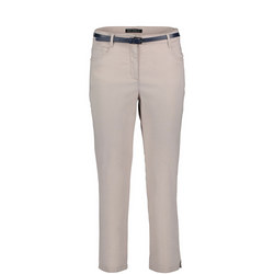 Casual Belted Trousers