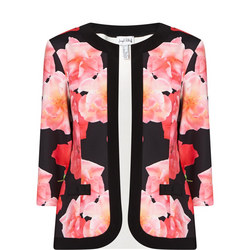Floral Top And Blazer Set