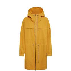 Hooded Longline Rain Mac