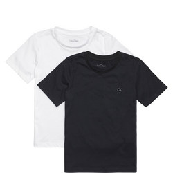 Boys Two-Pack Modern Cotton T-Shirts