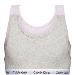 Girls Two-Pack Modern Cotton Bralettes