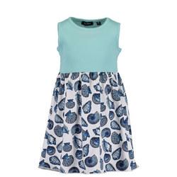 Girls Sleeveless Seashell Dress