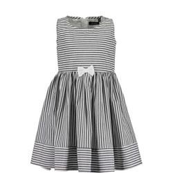 Girls Sleeveless Bow Dress