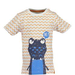 Boys Zig-Zag Crocodile T-Shirt