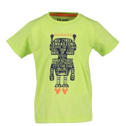 Boys Robot Graphic T-Shirt
