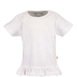 Babies Plain Frilled T-Shirt