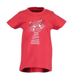 Babies Cherry Cat T-Shirt