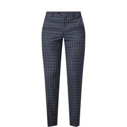 Lovati Check Suit Trousers