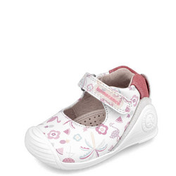 Babies Tropical Print Velcro Shoes