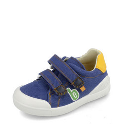 Boys Double Velcro Canvas Trainers