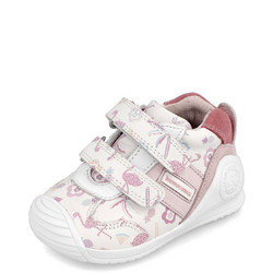 Babies Tropical Print Double Velcro Trainers