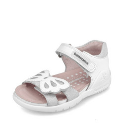Girls Butterfly Velcro Sandals