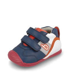 Babies Colour Block Double Velcro Trainers