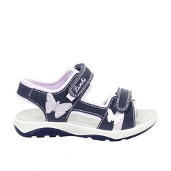 Fia Butterfly Applique Girls Sandals
