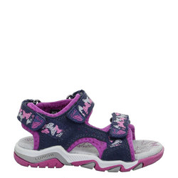 Brian Butterfly Print Girls Sandals