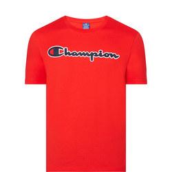 Script Logo Crew T-Shirt