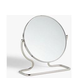 Short Framed Pedestal Mirror