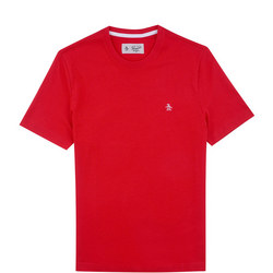 Pin Point Embroidery T-Shirt