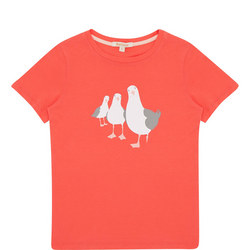 Girls Seagull T-Shirt