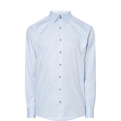 Trimmed Collar Shirt