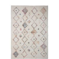 Cotton Rug Multi 180 x 120cm