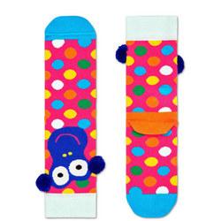 Girls Monkey Socks