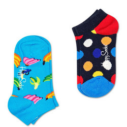 Kids Two-Pack Big Dot Socks