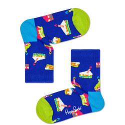 Kids Birthday Cake Socks