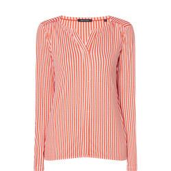 Stripe Print Blouse