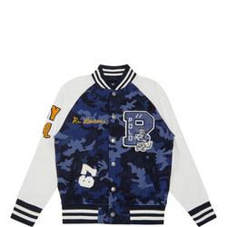 Boys Camouflage Baseball Sweatshirt
