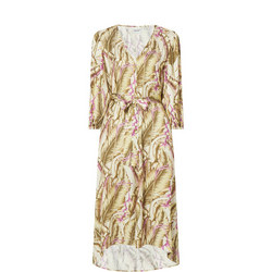 Sybil Tropical Print Dress