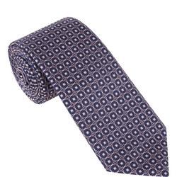 Mosaic Print Tie