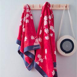 Penzance Towel Red