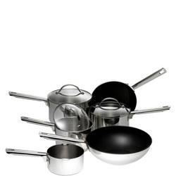 Six Piece Stainless Steel Set