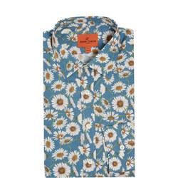 Daisy Print Formal Shirt