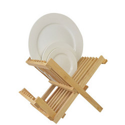 Wooden Folding Plate Drainer