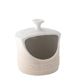 Stoneware Salt Pig Meringue
