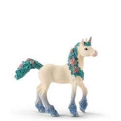 Flower Unicorn Foal 7 Inches
