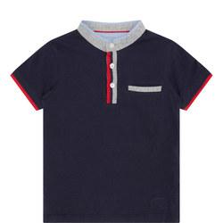 Boys Mandarin Collar Shirt