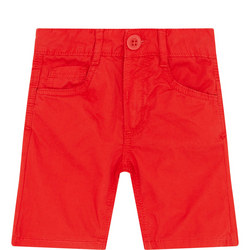 Boys Roll-Up Cuff Shorts