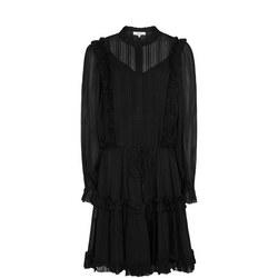 Justina Semi Sheer Mini Dress