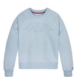 Tonal Embroidered Sweatshirt